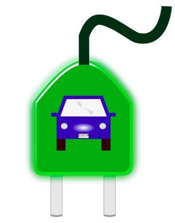 """car electrical plug graphic"""